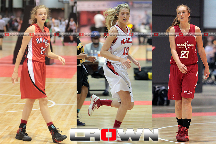 Alyssa Jerome, Carmen Handy, Rylee Welsh, Nike National Invitational Tournament, Canadian girls, Basketball